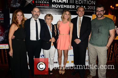 Javier Camara, Nicolas Vallejo Najera, Amaaia Salamanca, Jesus Monllao and Guest 11
