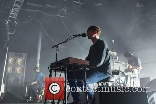 James Blake playing live