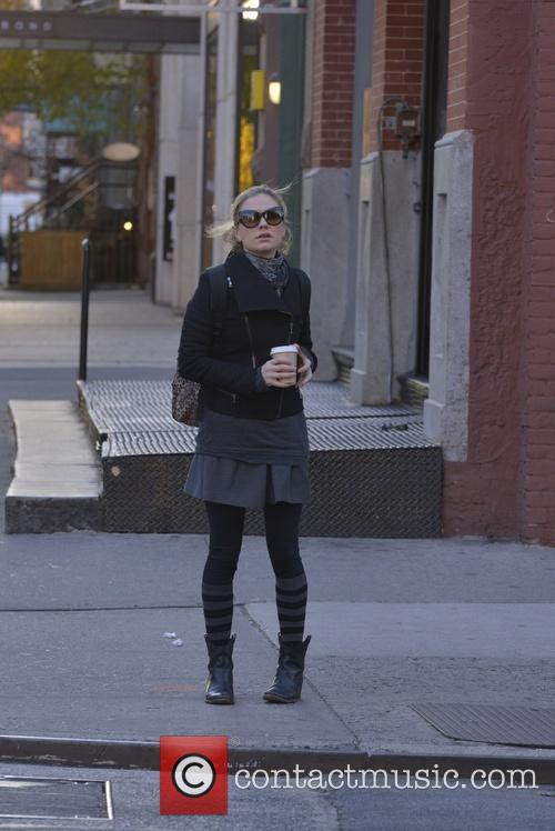 Anna Paquin out in the East Village