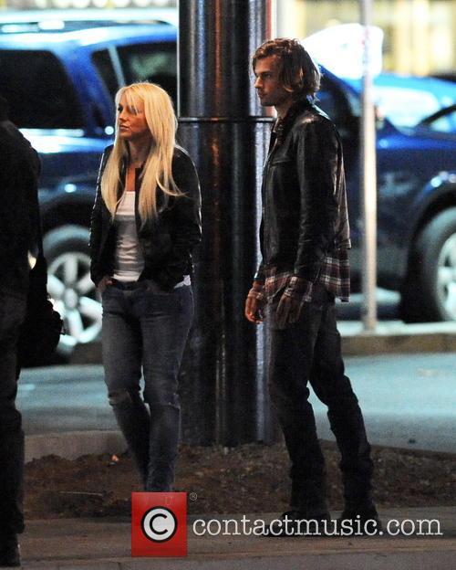 Britney Spears and Alexander KJellevik 3