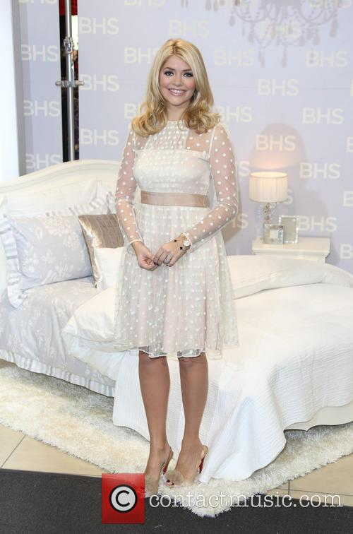 Holly Willoughby for the Home launch held at...
