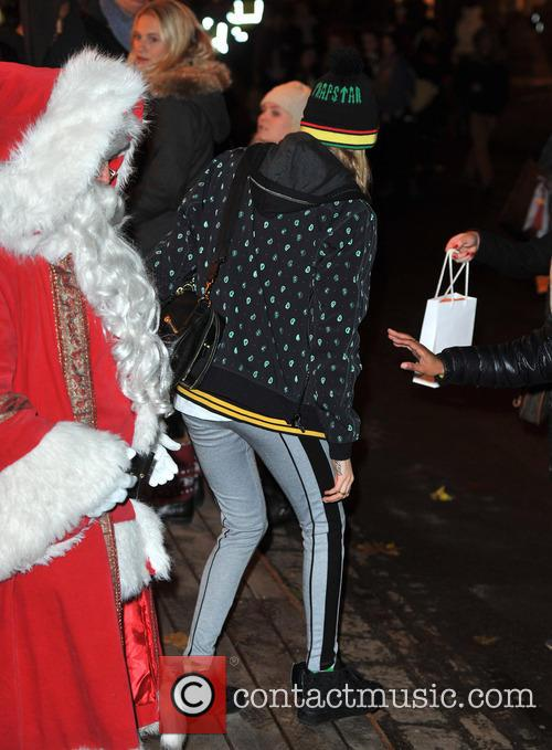 cara delevingne hyde park winter wonderland 3964807