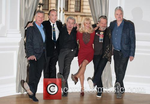 Michael Palin, Eric Idle, Terry Jones, Terry Gilliam, John Cleese and Carol Cleveland 6