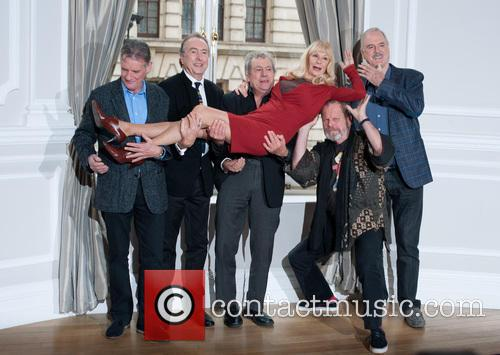 Michael Palin, Eric Idle, Terry Jones, Terry Gilliam, John Cleese and Carol Cleveland 7