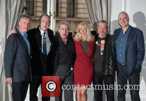 Michael Palin, Eric Idle, Terry Jones, Terry Gilliam, John Cleese and Carol Cleveland 8