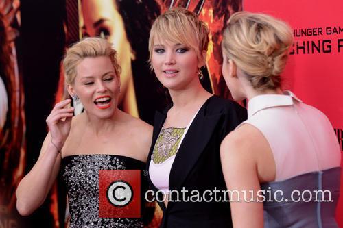 Elizabeth Banks, Jennifer Lawrence and Jena Malone 1