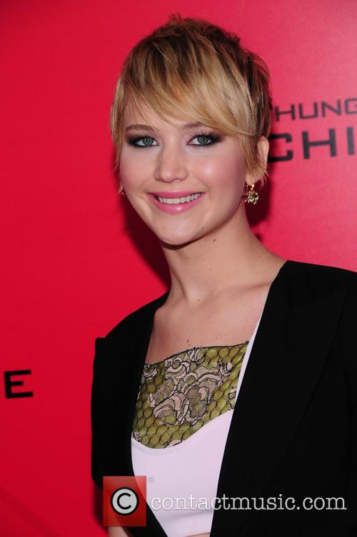 Jennifer Lawrence, Catching Fire Screening