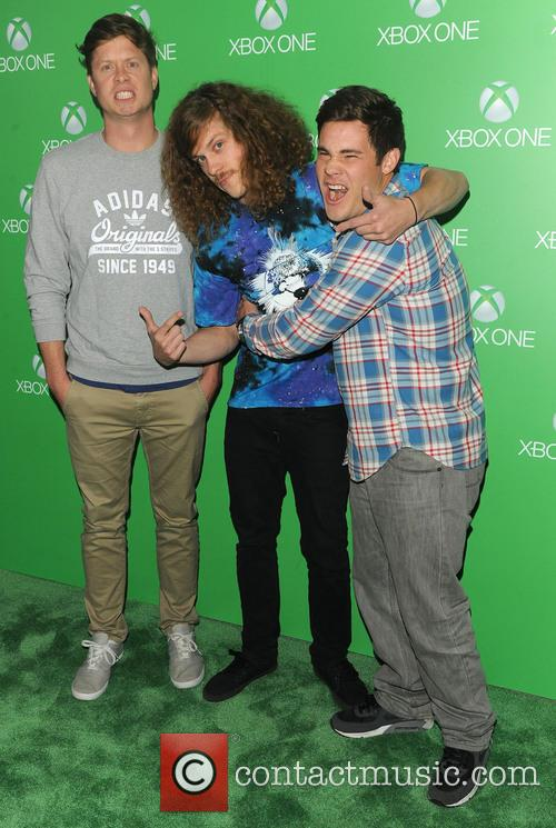 Anders Holm, Blake Anderson and Adam Devine 2