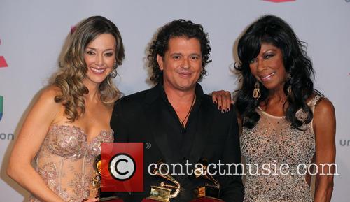 Claudia Elena Vasquez, Carlos Vives and Natalie Cole 3