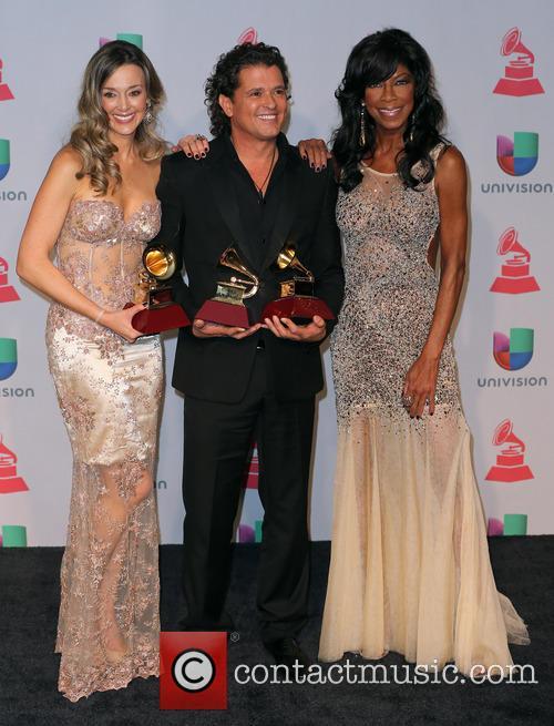 Claudia Elena Vasquez, Carlos Vives and Natalie Cole 1
