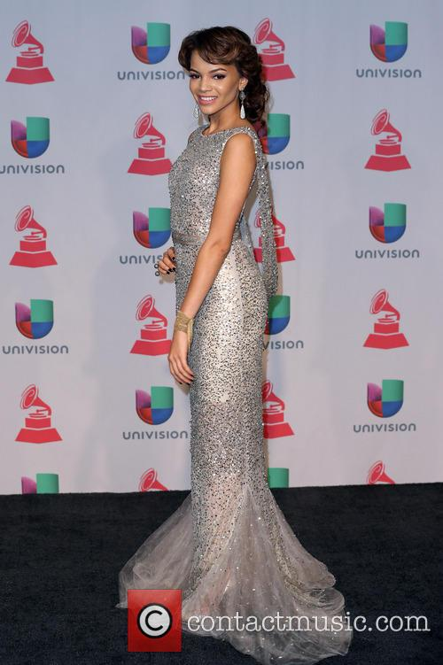 leslie grace 2013 latin grammy awards at 3966236