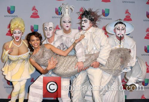 Latin Grammy Awards, Leslie Grace and Zarkana 2
