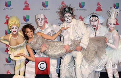 Latin Grammy Awards, Leslie Grace, Zarkana, Mandalay Bay Resort and Casino, Grammy Awards