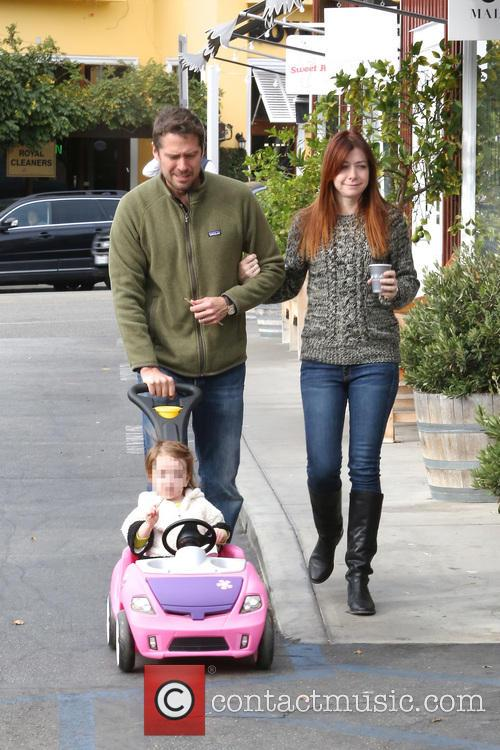 Alexis Denisof, Alyson Hannigan and Satyana 5