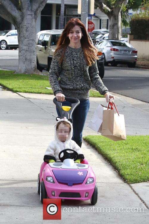 Alyson Hannigan and Satyana 2