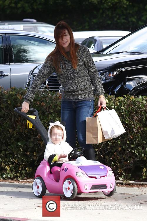 Alyson Hannigan and Satyana 9