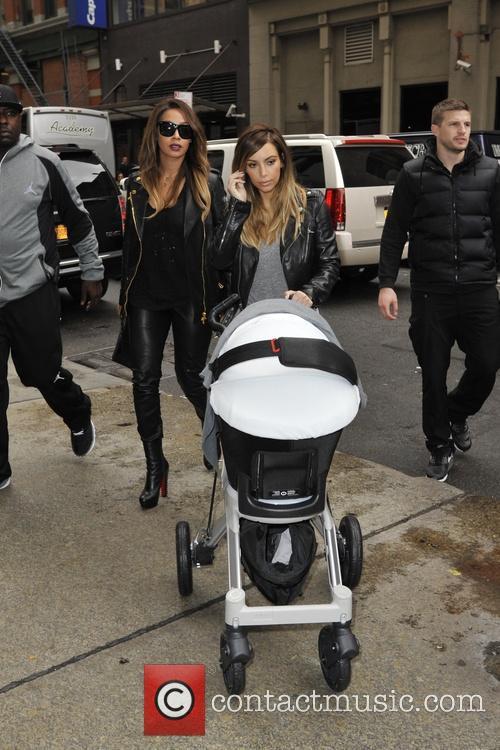 Kim Kardashian and Lala Anthony 2