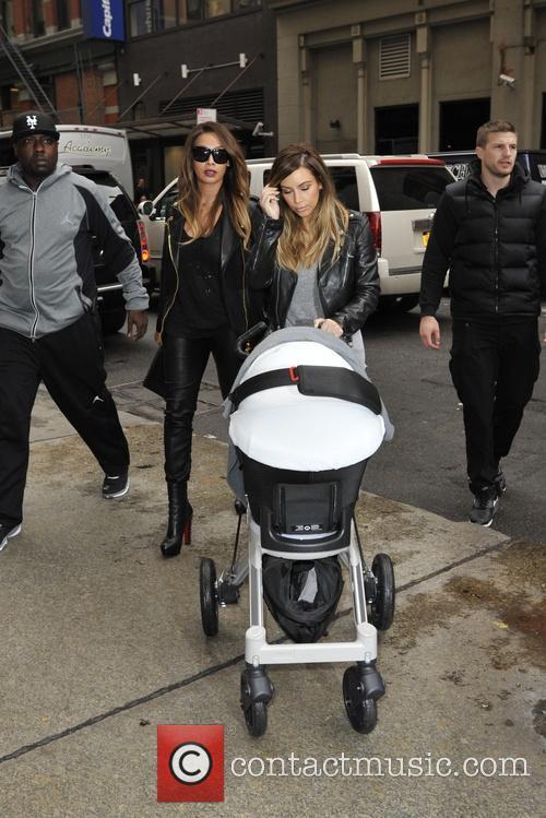 Kim Kardashian and Lala Anthony 3