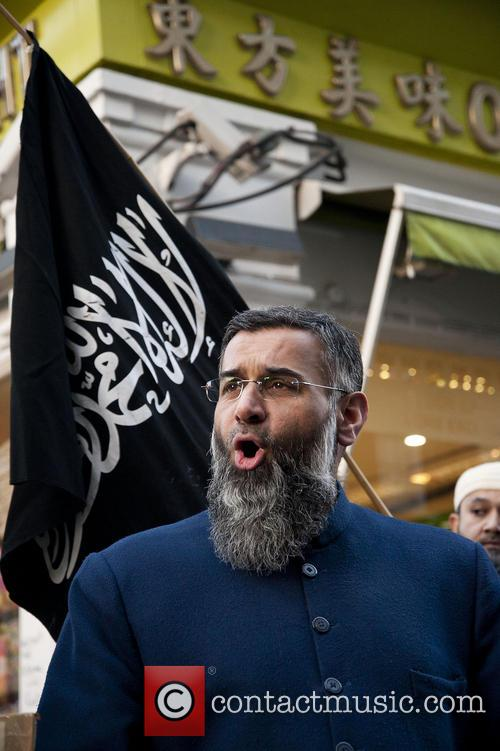 Anjem Choudary delivers a speech  in China...