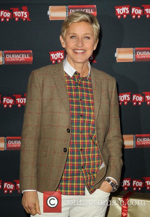 Oscar's host Ellen Degeneres