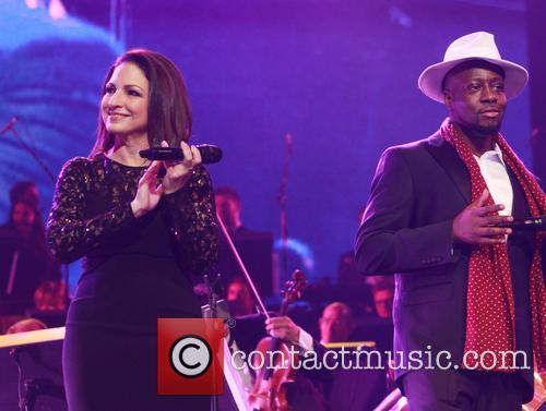 Gloria Estefan and Wyclef Jean 6
