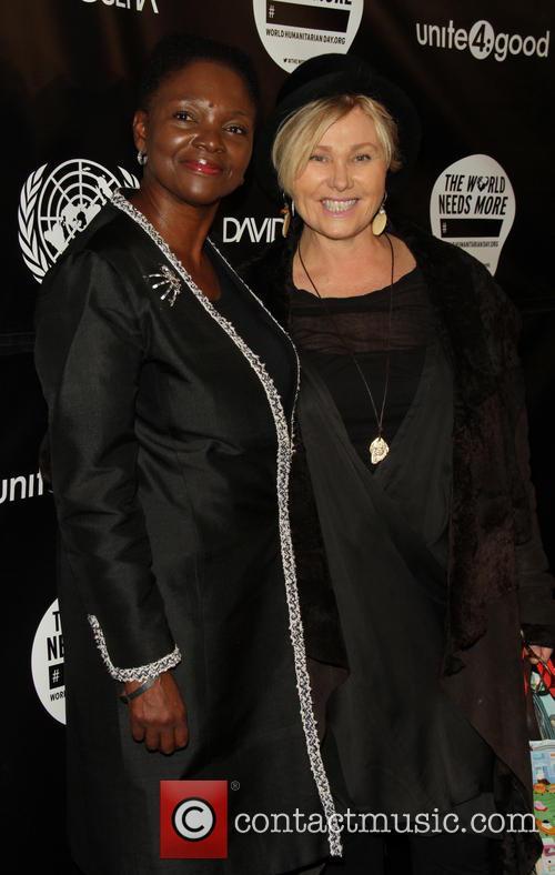 Valerie Amos and Deborra-lee Furness 2