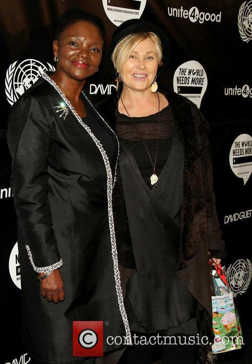 Valerie Amos and Deborra-lee Furness 1