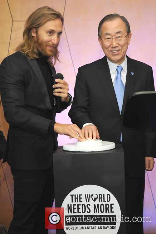 David Guetta and Ban Ki-moon 1