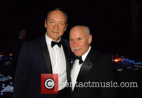 Kevin Spacey and Steve Mccurry