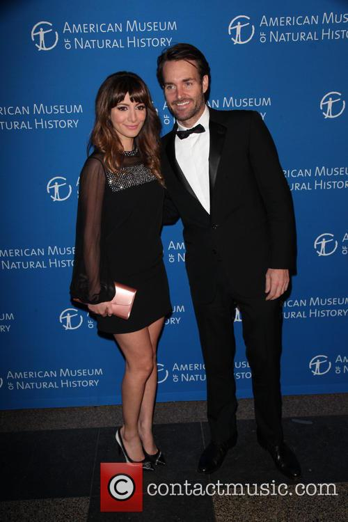 Nasim Pedrad and Will Forte 2