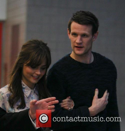 Matt Smith and Jenna-Louise Colman 1