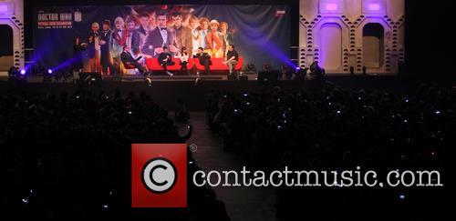Matt Smith, Jenna-louise Colman, Steven Moffatt and Marcus Wilson 7
