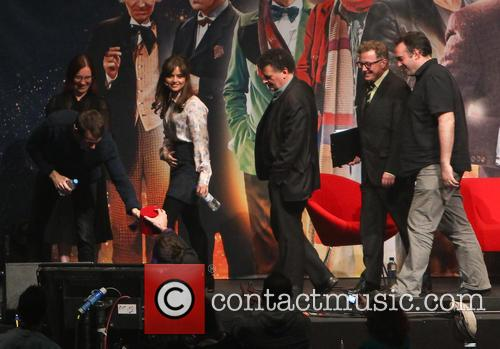 Matt Smith, Jenna-Louise Colman, Steven Moffatt and Marcus Wilson 6