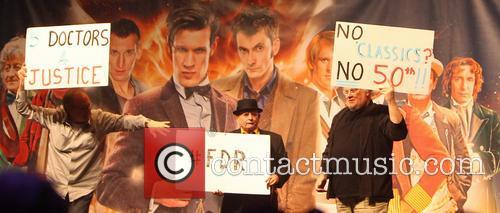 Peter Davison, Sylvester Mccoy and Colin Baker 2