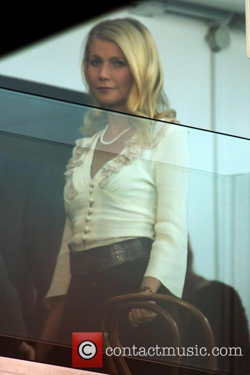 Gwyneth Paltrow filming Mortdecai