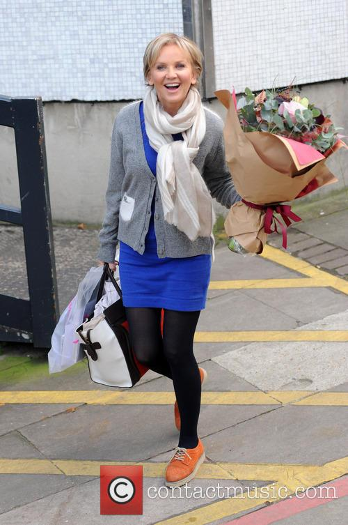 Lisa Maxwell at the ITV studios