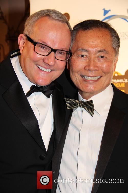 Brad and Georgee Takei