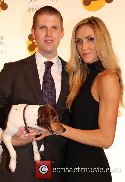 Eric Trump and Lara Yunaska