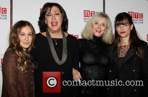Sarah Jessica Parker, Lynne Meadow, Blythe Danner and Amanda Peet 1