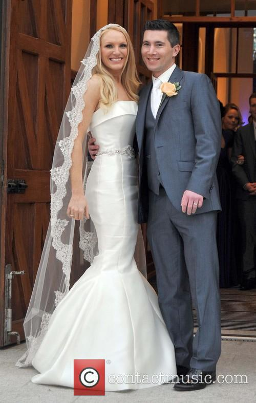 The wedding of Hayley Rock and Paul Elliott