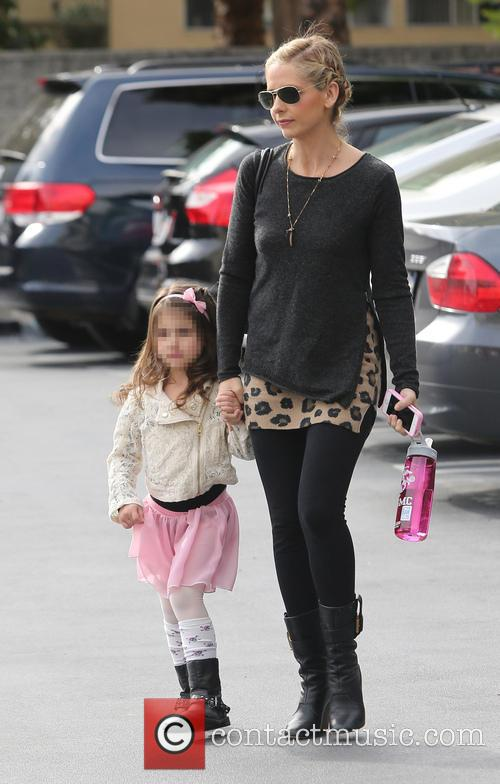 Sarah Michelle Gellar and Charlotte Grace Prinze 6
