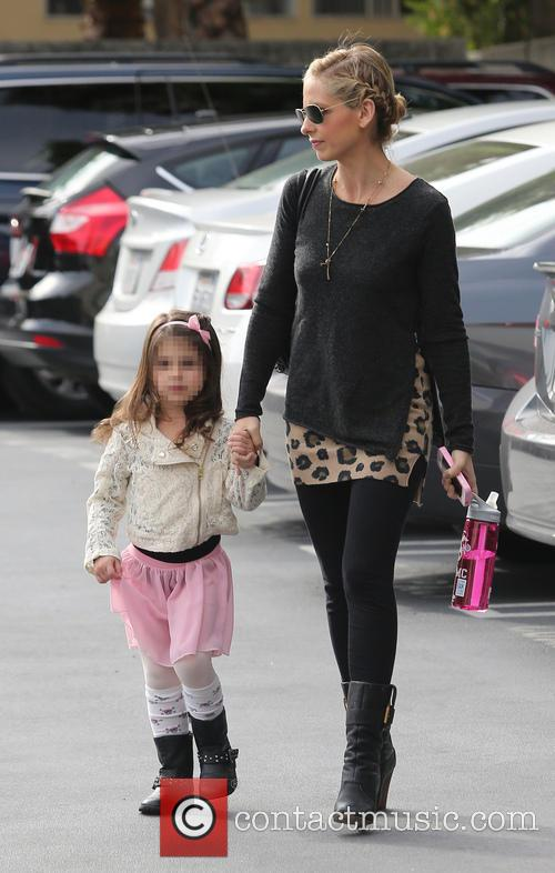 Sarah Michelle Gellar and Charlotte Grace Prinze 9