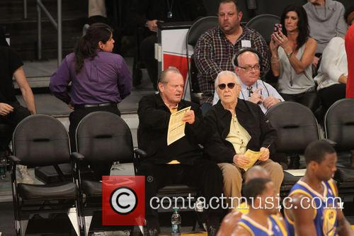 jack nicholson celebs at the lakers game 3967611