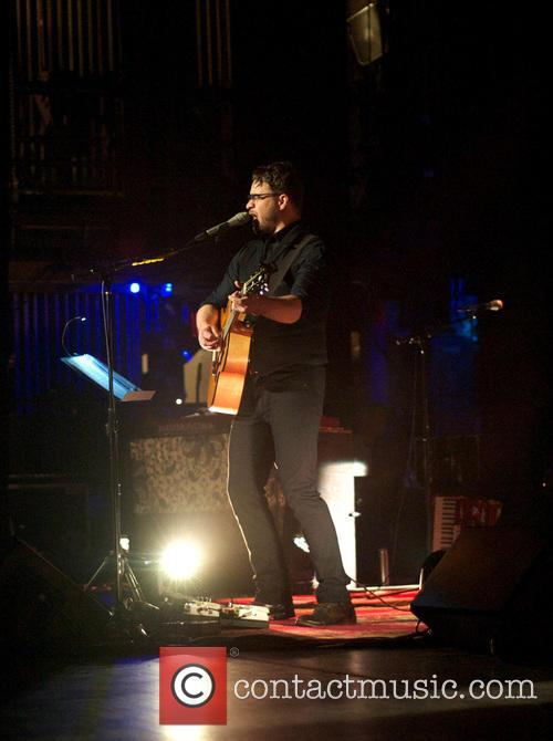 Amos Lee performs live in concert