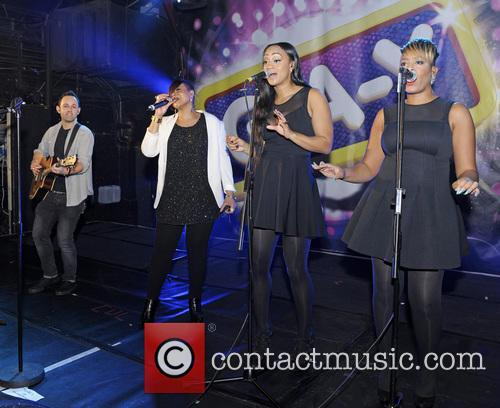 Gabrielle performs live at G-A-Y