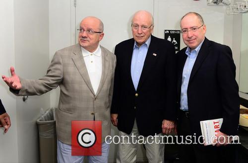 Dick Cheney, President Of Miami Dade College Eduardo J. Padron and Dr. Jonathan Reine 3