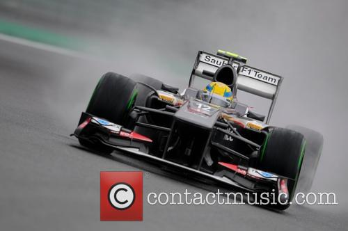 Formula One and Esteban Gutierrez 2