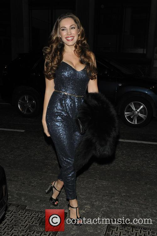 Kelly Brook out on birthday at Steam and...