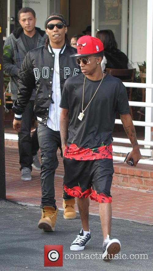 Kylie Jenner and Lil Twist at Mauro Cafe...