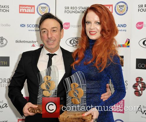 Shirley Manson and John Mclaughlin